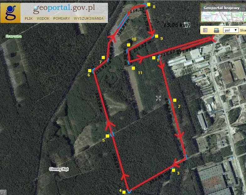 5 km geoportal