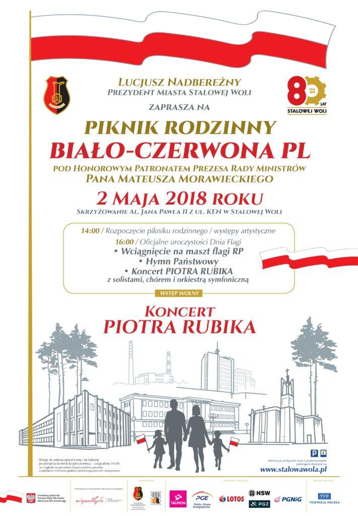 Biało-Czerwona PL Stalowa Wola 2 maja 2018