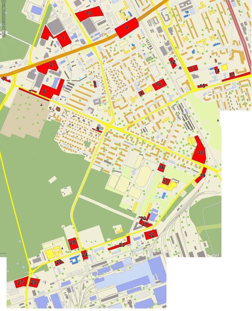 Mapa Stalowa Wola Oficjalny Portal Miasta