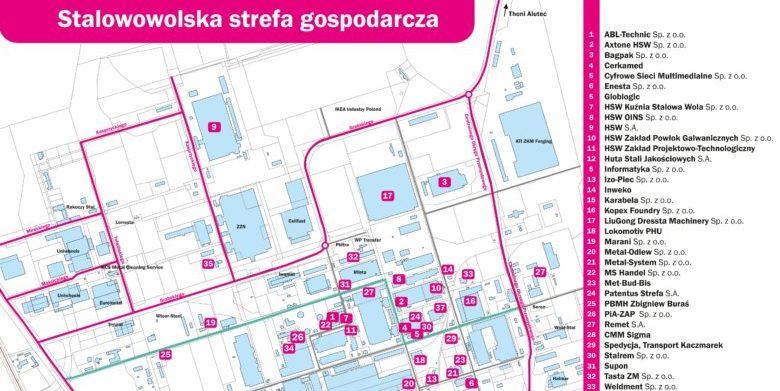 Plan Stalowowolskiej Strefy Gospodarczej Stalowa Wola