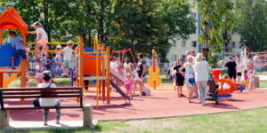 Centralny Plac Zabaw w Stalowej Woli