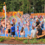 Otwarcie wodnego placu zabaw w Stalowej Woli