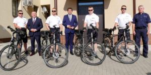 Rowery dla Policji w Stalowej Woli