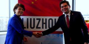 Wizyta delegacji z Liuzhou Chiny w Stalowej Woli 14.11.2018