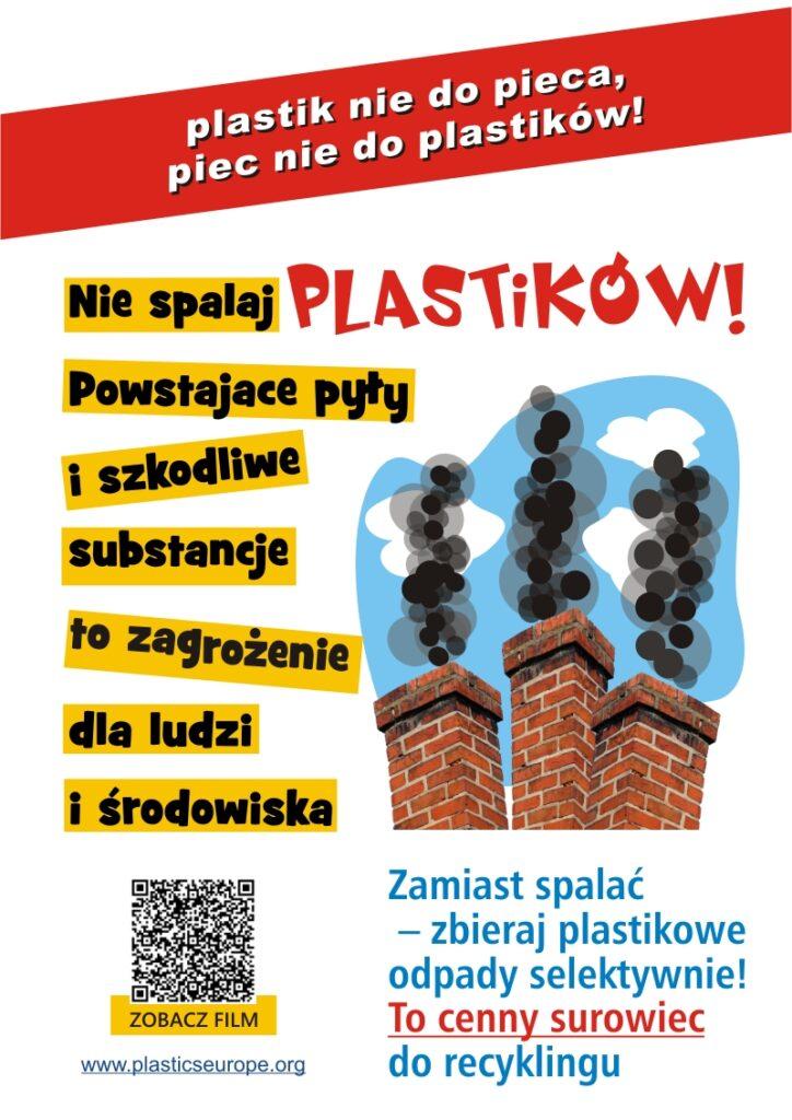 plakat plastik nie do pieca