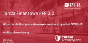 napis Tarcza finansowa PFR 2.0