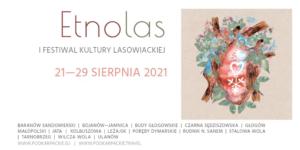 Plakat przedstawiający Festiwal Kultury lasowiackiej