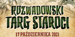 Plakat Rozwadowski targ staroci