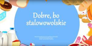 Plakat reklama artykułów spożywczych